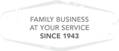 Family business at your service since 1943