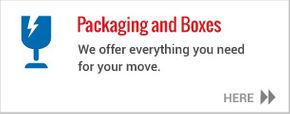 Packaging and boxes - We offer everything you need for your move.