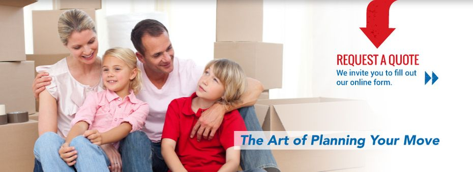 Request a quote - We invite you to fill out our online form - The art of planning your move